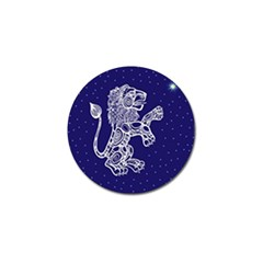 Leo Zodiac Star Golf Ball Marker by Mariart