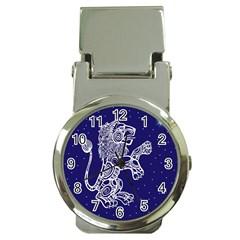 Leo Zodiac Star Money Clip Watches by Mariart