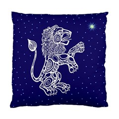 Leo Zodiac Star Standard Cushion Case (two Sides) by Mariart