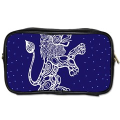 Leo Zodiac Star Toiletries Bags by Mariart