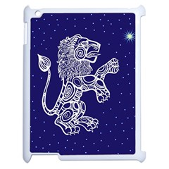 Leo Zodiac Star Apple Ipad 2 Case (white) by Mariart