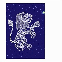 Leo Zodiac Star Small Garden Flag (two Sides) by Mariart
