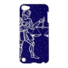 Libra Zodiac Star Apple Ipod Touch 5 Hardshell Case by Mariart