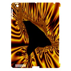 Hole Gold Black Space Apple Ipad 3/4 Hardshell Case (compatible With Smart Cover) by Mariart
