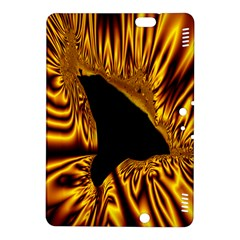 Hole Gold Black Space Kindle Fire Hdx 8 9  Hardshell Case by Mariart