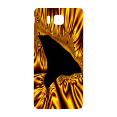 Hole Gold Black Space Samsung Galaxy Alpha Hardshell Back Case by Mariart