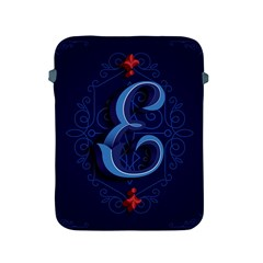 Marquis Love Dope Lettering Blue Red Alphabet E Apple Ipad 2/3/4 Protective Soft Cases by Mariart