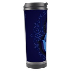 Marquis Love Dope Lettering Blue Red Alphabet E Travel Tumbler by Mariart