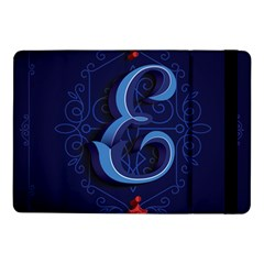 Marquis Love Dope Lettering Blue Red Alphabet E Samsung Galaxy Tab Pro 10 1  Flip Case by Mariart