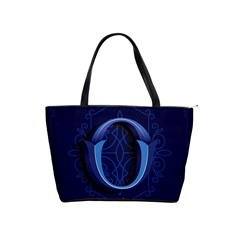 Marquis Love Dope Lettering Blue Red Alphabet O Shoulder Handbags by Mariart