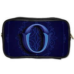 Marquis Love Dope Lettering Blue Red Alphabet O Toiletries Bags by Mariart