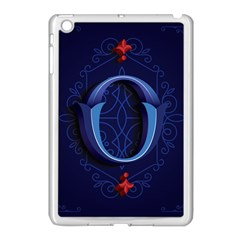 Marquis Love Dope Lettering Blue Red Alphabet O Apple Ipad Mini Case (white) by Mariart