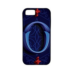 Marquis Love Dope Lettering Blue Red Alphabet O Apple Iphone 5 Classic Hardshell Case (pc+silicone) by Mariart
