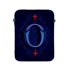 Marquis Love Dope Lettering Blue Red Alphabet O Apple Ipad 2/3/4 Protective Soft Cases by Mariart