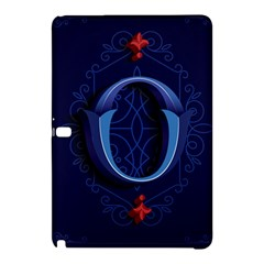 Marquis Love Dope Lettering Blue Red Alphabet O Samsung Galaxy Tab Pro 10 1 Hardshell Case by Mariart