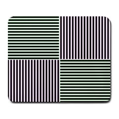 Mccollough Test Image Colour Effec Line Large Mousepads by Mariart