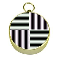 Mccollough Test Image Colour Effec Line Gold Compasses by Mariart
