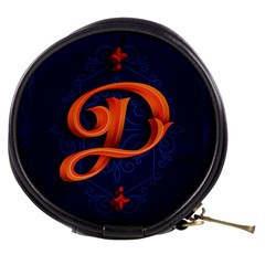 Marquis Love Dope Lettering Blue Red Orange Alphabet P Mini Makeup Bags by Mariart