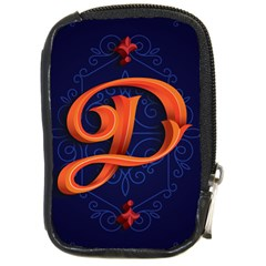 Marquis Love Dope Lettering Blue Red Orange Alphabet P Compact Camera Cases by Mariart