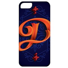 Marquis Love Dope Lettering Blue Red Orange Alphabet P Apple Iphone 5 Classic Hardshell Case by Mariart