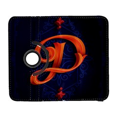 Marquis Love Dope Lettering Blue Red Orange Alphabet P Galaxy S3 (flip/folio) by Mariart