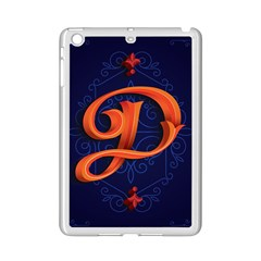 Marquis Love Dope Lettering Blue Red Orange Alphabet P Ipad Mini 2 Enamel Coated Cases by Mariart