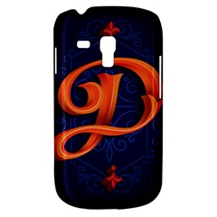 Marquis Love Dope Lettering Blue Red Orange Alphabet P Galaxy S3 Mini by Mariart