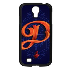 Marquis Love Dope Lettering Blue Red Orange Alphabet P Samsung Galaxy S4 I9500/ I9505 Case (black) by Mariart
