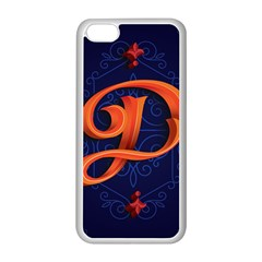 Marquis Love Dope Lettering Blue Red Orange Alphabet P Apple Iphone 5c Seamless Case (white) by Mariart