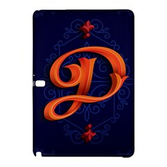 Marquis Love Dope Lettering Blue Red Orange Alphabet P Samsung Galaxy Tab Pro 10 1 Hardshell Case by Mariart