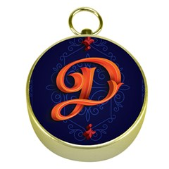 Marquis Love Dope Lettering Blue Red Orange Alphabet P Gold Compasses by Mariart