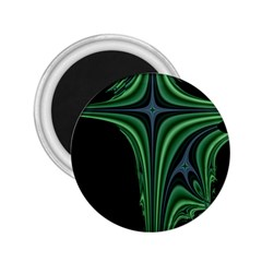 Line Light Star Green Black Space 2 25  Magnets by Mariart