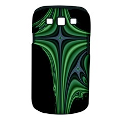 Line Light Star Green Black Space Samsung Galaxy S Iii Classic Hardshell Case (pc+silicone) by Mariart