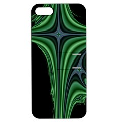 Line Light Star Green Black Space Apple Iphone 5 Hardshell Case With Stand by Mariart