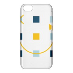 Plaid Arrow Yellow Blue Key Apple Iphone 5c Hardshell Case by Mariart