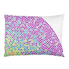Japanese Name Circle Purple Yellow Green Red Blue Color Rainbow Pillow Case (two Sides) by Mariart