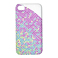Japanese Name Circle Purple Yellow Green Red Blue Color Rainbow Apple Iphone 4/4s Hardshell Case With Stand by Mariart