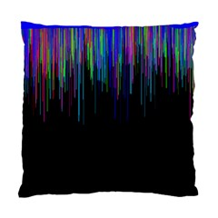 Rain Color Paint Rainbow Standard Cushion Case (one Side) by Mariart
