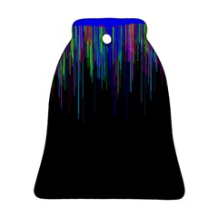 Rain Color Paint Rainbow Ornament (bell) by Mariart