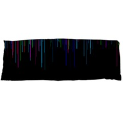 Rain Color Paint Rainbow Body Pillow Case Dakimakura (two Sides) by Mariart