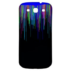 Rain Color Paint Rainbow Samsung Galaxy S3 S Iii Classic Hardshell Back Case by Mariart