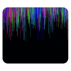 Rain Color Paint Rainbow Double Sided Flano Blanket (small)  by Mariart