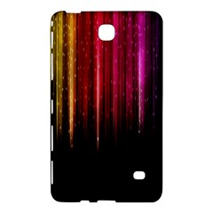 Rain Color Rainbow Line Light Green Red Blue Gold Samsung Galaxy Tab 4 (7 ) Hardshell Case  by Mariart