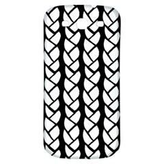 Ropes White Black Line Samsung Galaxy S3 S Iii Classic Hardshell Back Case