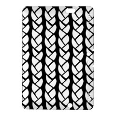 Ropes White Black Line Kindle Fire Hdx 8 9  Hardshell Case by Mariart