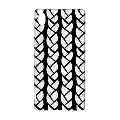 Ropes White Black Line Sony Xperia Z3+ by Mariart