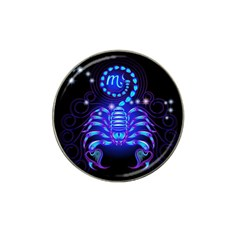 Sign Scorpio Zodiac Hat Clip Ball Marker (10 Pack) by Mariart