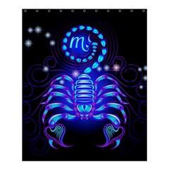 Sign Scorpio Zodiac Shower Curtain 60  X 72  (medium)  by Mariart