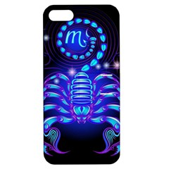 Sign Scorpio Zodiac Apple Iphone 5 Hardshell Case With Stand by Mariart