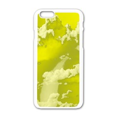 Sky Apple Iphone 6/6s White Enamel Case by ValentinaDesign